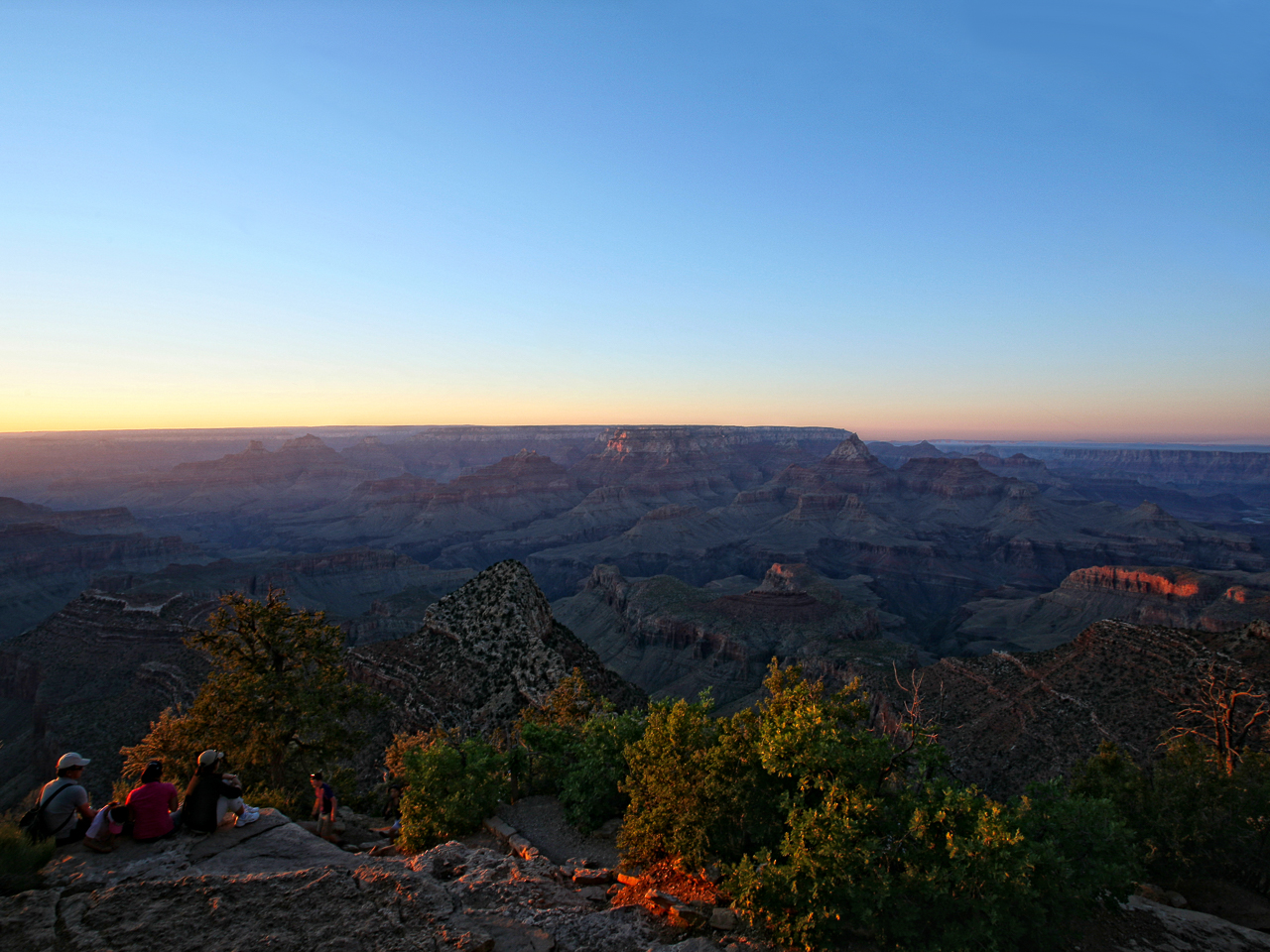 Sunrise (at Grand Canyon)