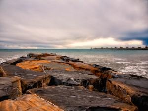 Il mare a Dicembre (a Imperia)