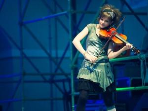 Lindsey Stirling at Celtica 2012