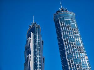 Dubai skyscrapers #01
