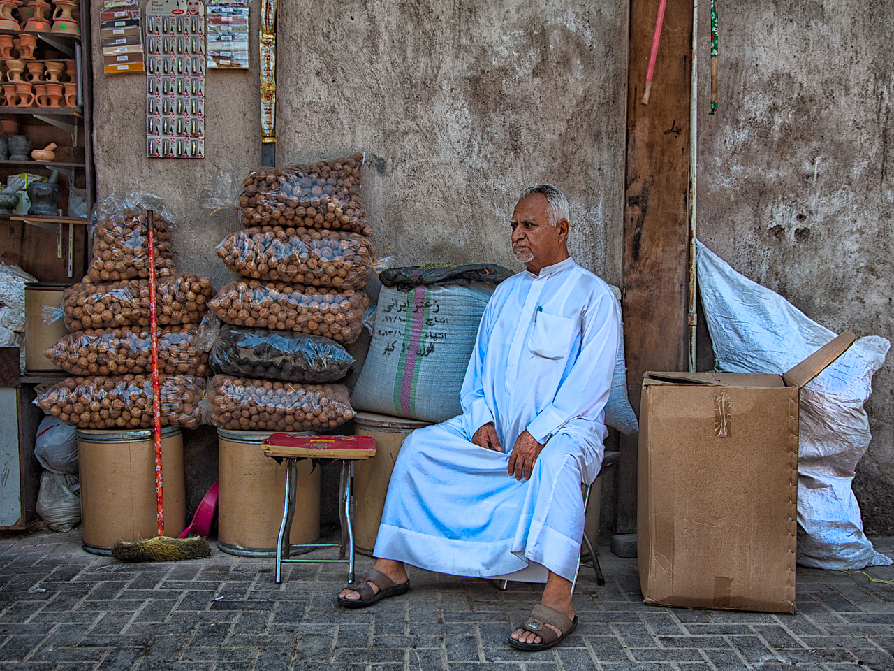 Il venditore di noci