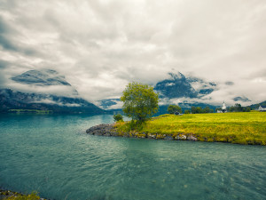 Norway: fjords, lakes and clouds #05