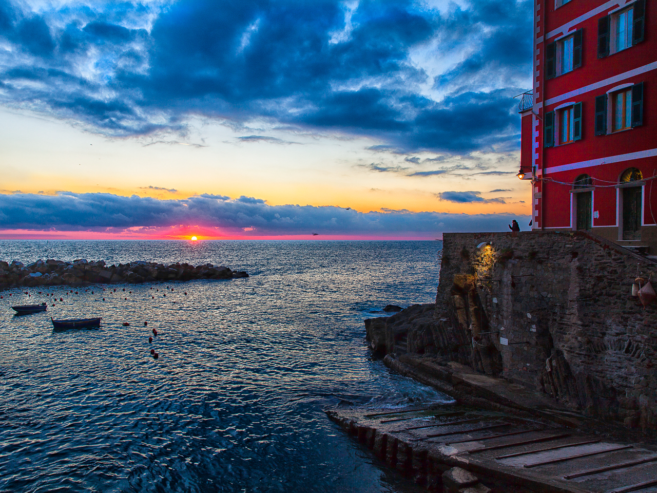 Sunset , Red, RioMaggiore
