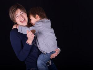 Il sorriso di una mamma