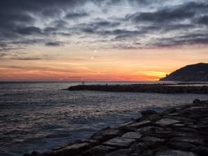 Sunset in Sanremo
