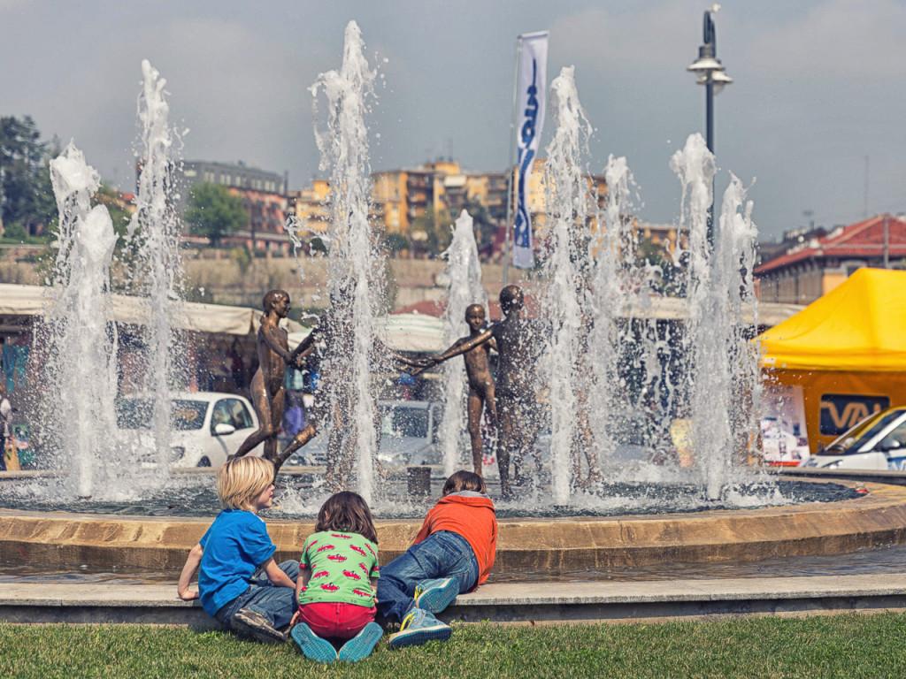 Acqua che scorri attraverso Mondovì