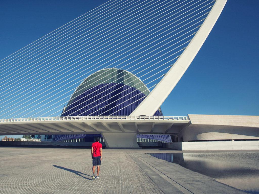 Selfie with Santiago Calatrava #01