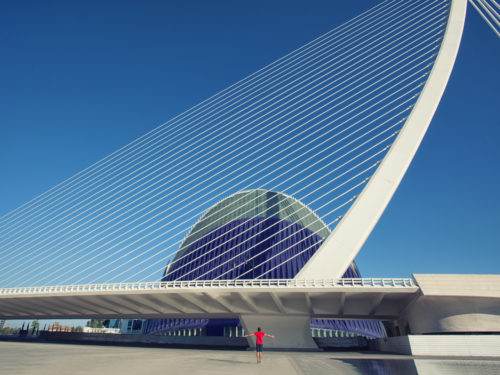 Selfie with Santiago Calatrava #02
