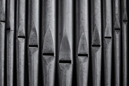 Particolare dell'organo