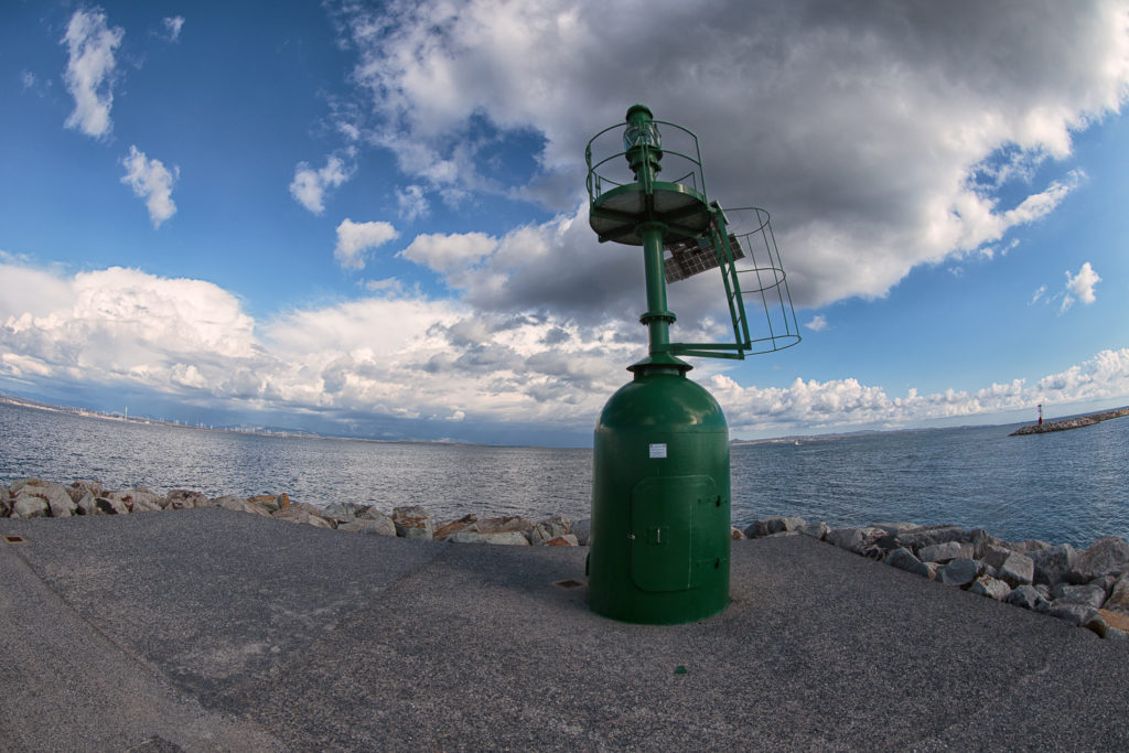 Little Green Lighthouse (Fish-Eye)