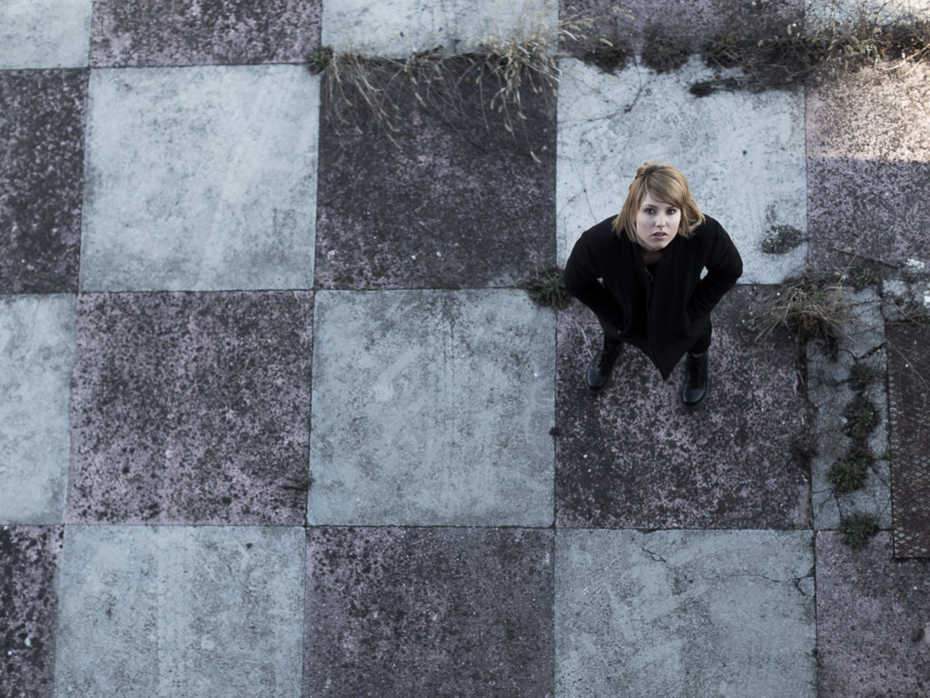 Black melancholy on chess field #02