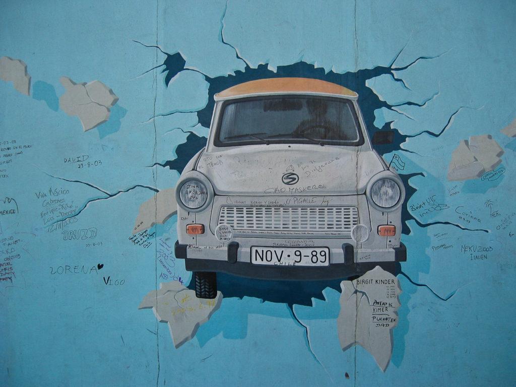 Il muro/Trabant