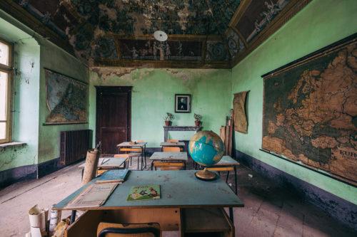 La scuola del mappamondo #02