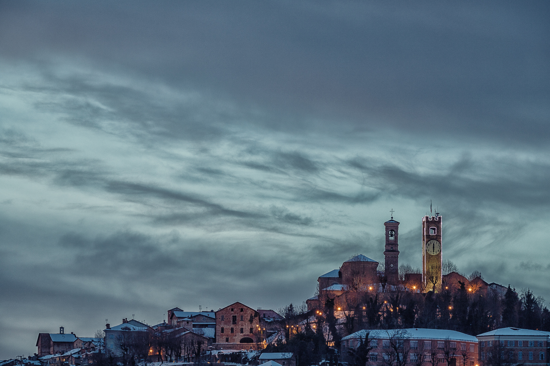 Mondovì Piazza (Blue Hour)