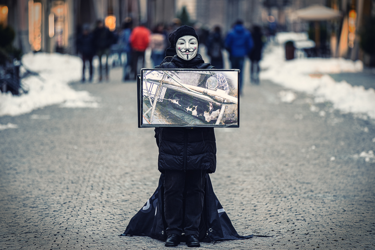 Anonymous in Cuneo