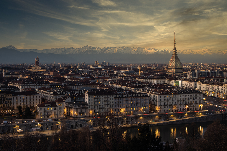 Il cielo su Torino