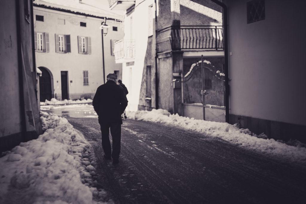Beinette dopo la nevicata /04